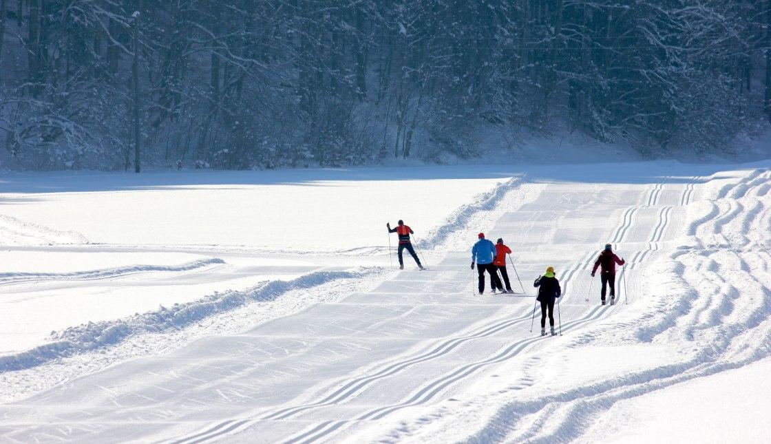 Langlauf im Bergsteigerdorf Sachrang, © Herbert Reiter