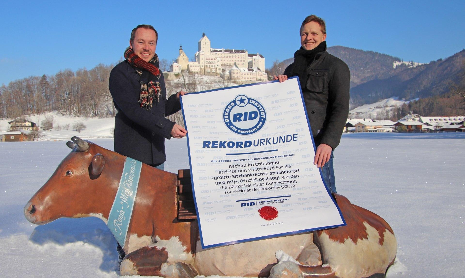 Bankerl Weltrekord , © Tourist Info Aschau