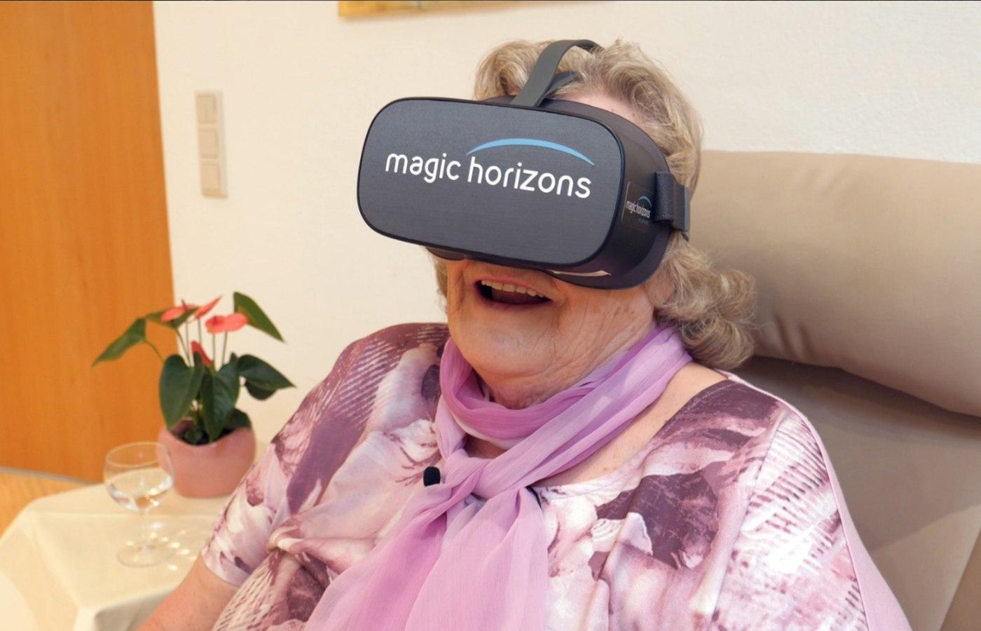 VR-Brille, © macic horizons