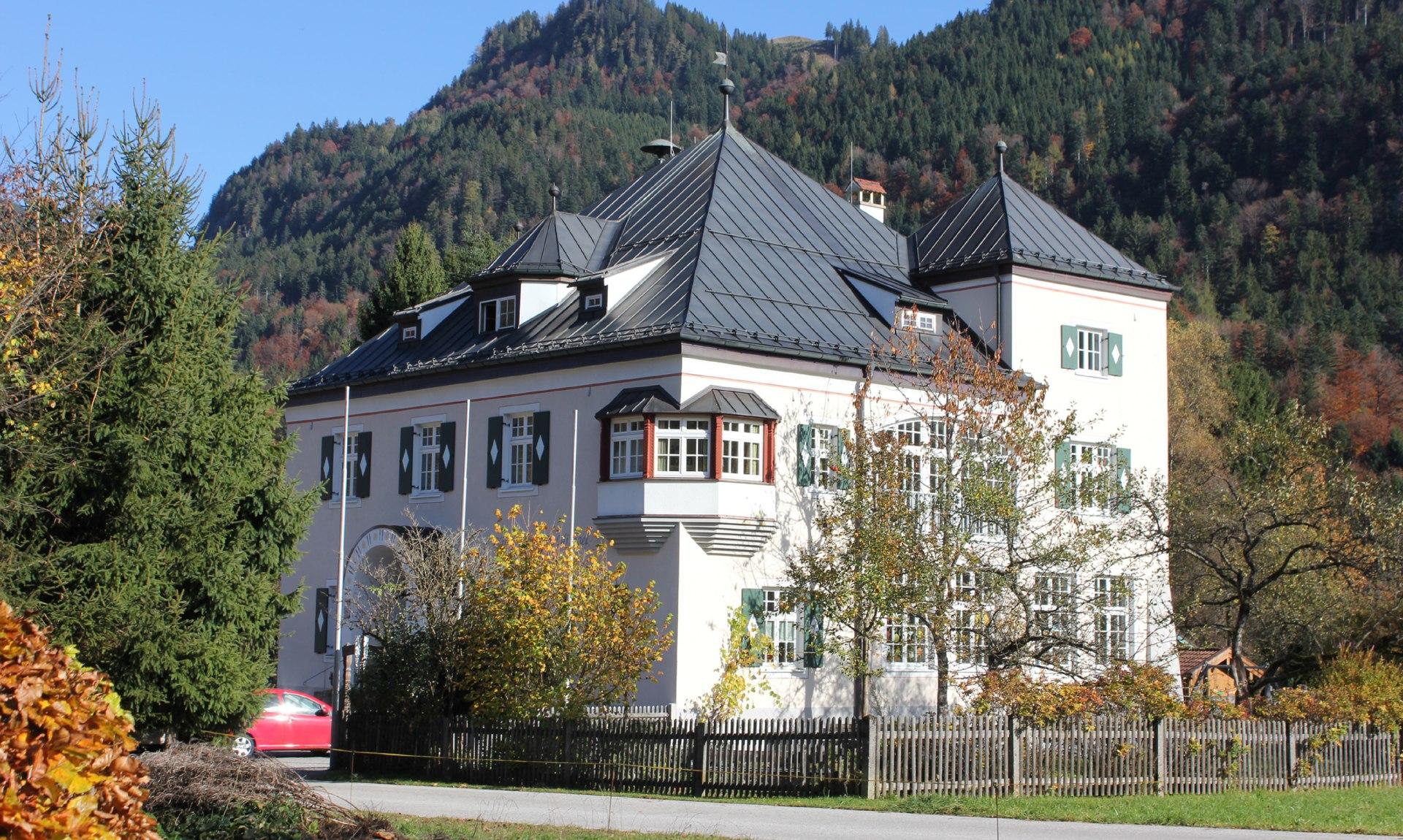Alte Schule Sachrang, © H. Reiter