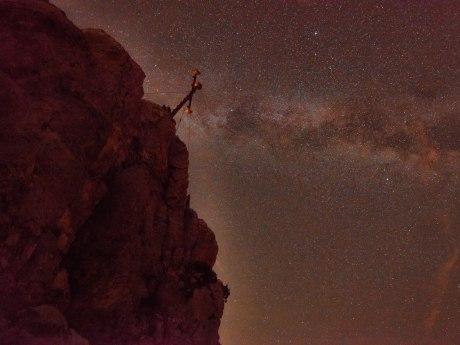 Kampenwand bei Nacht, © Ralf Blumenschein