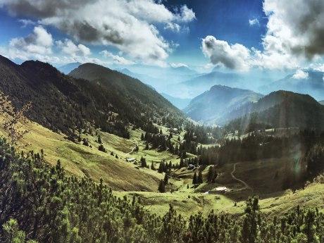 Geigelstein Panorama, © Herbert Reiter