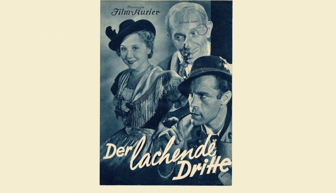 """""""Der lachende Dritte"""" Film gedreht in Aschau i.Ch., © Archiv Gemeinde Aschau i.Ch."""