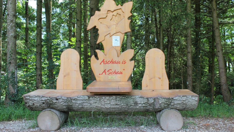 2_Alpen-Enzian-Bank, © Tourist Info Aschau i.Ch.