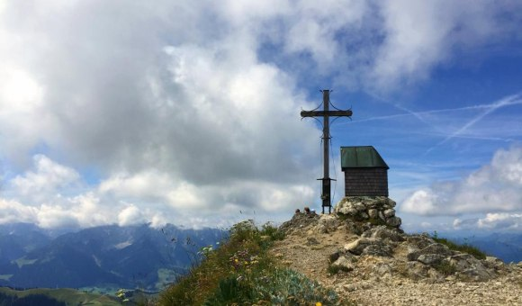 Geigelstein Gipfel 1808 m, © Tourist Info Aschau i.Ch.