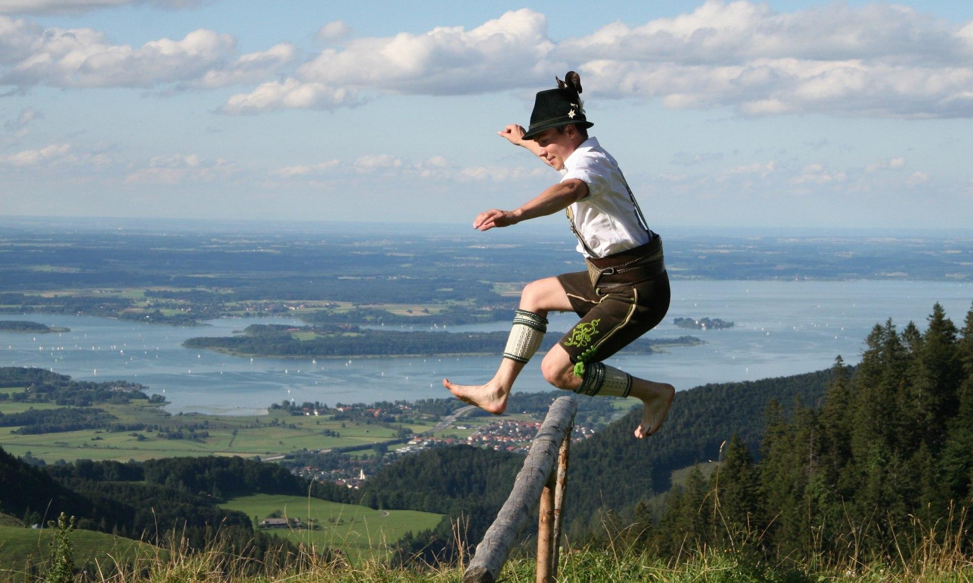 Trachtler GTEV D´Griabinga in der Luft, © Herbert Reiter