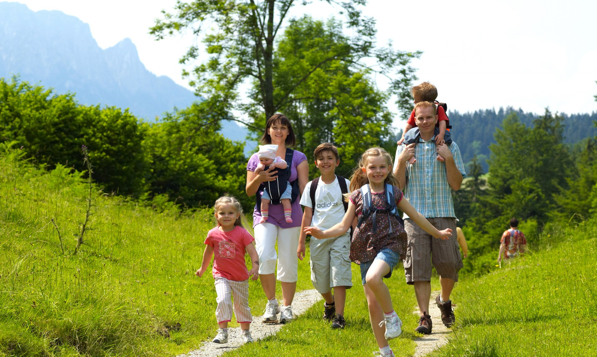 Familienwandern, © Tourist Info Aschau