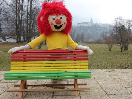 63_Pumuckl-Bankerl aufgestellt vom Bauhof Aschau i.Ch., © Tourist Info Aschau i.Ch.
