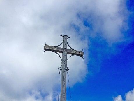Geigelstein Gipfelkreuz, © Manuela Maier