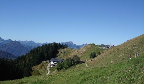 Blick Richtung Spitzsteinhaus und Altkaseralm, © Tourist Info Aschau im Chiemgau
