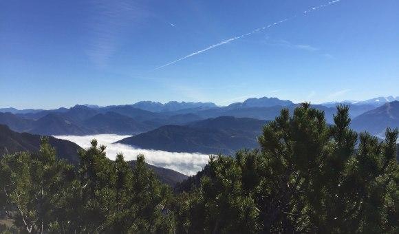 Bergpanorama Richtung Österreich, © Tourist Info Aschau i.Ch.