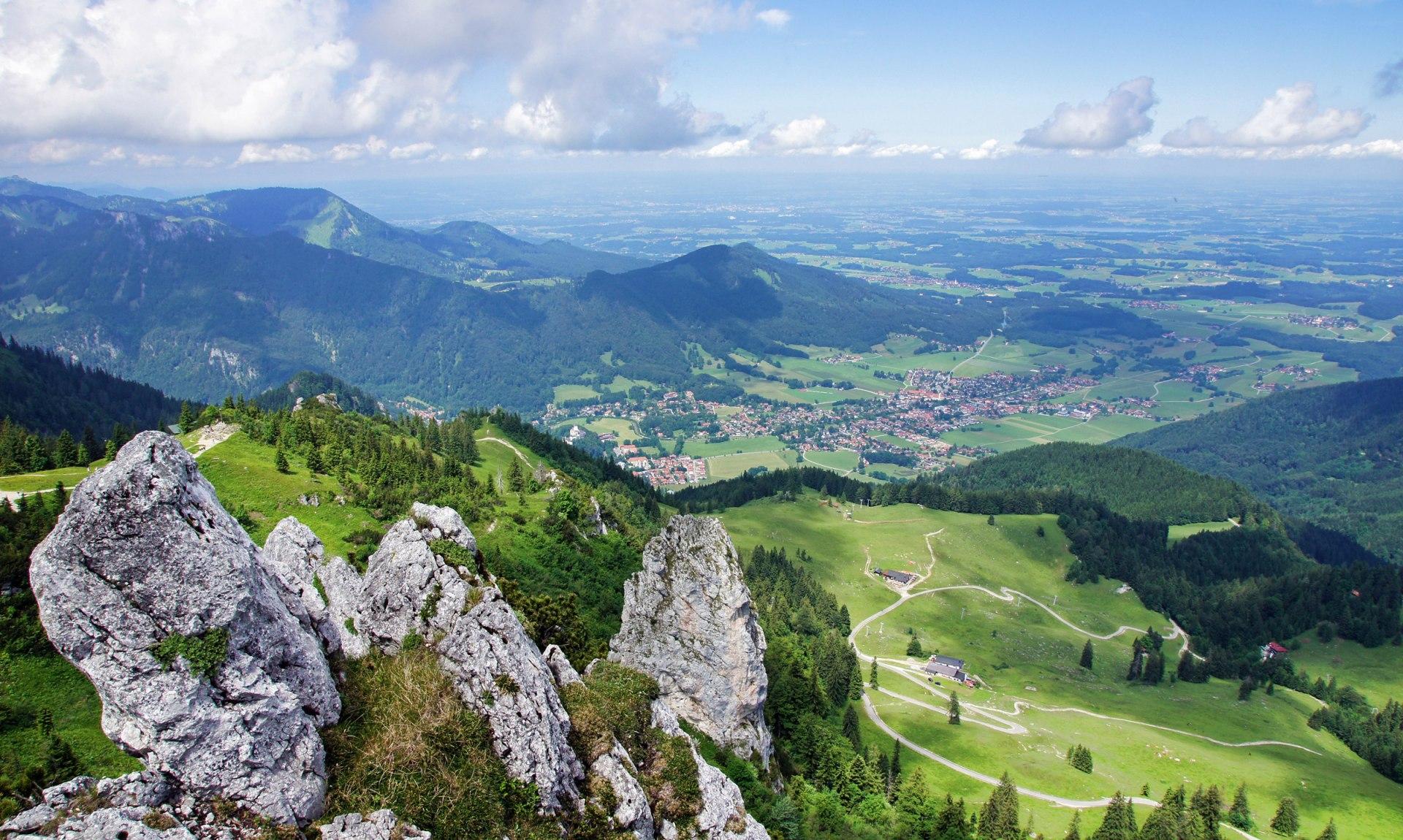 Blick auf Aschau im Chiemgau, © Claus Schuhmann