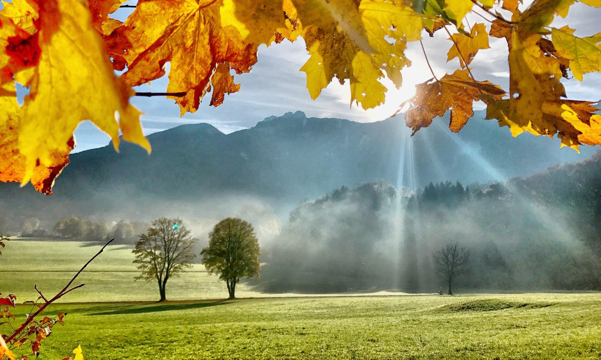 Wetterstimmung in Aschau im Chiemgau, © Herbert Reiter