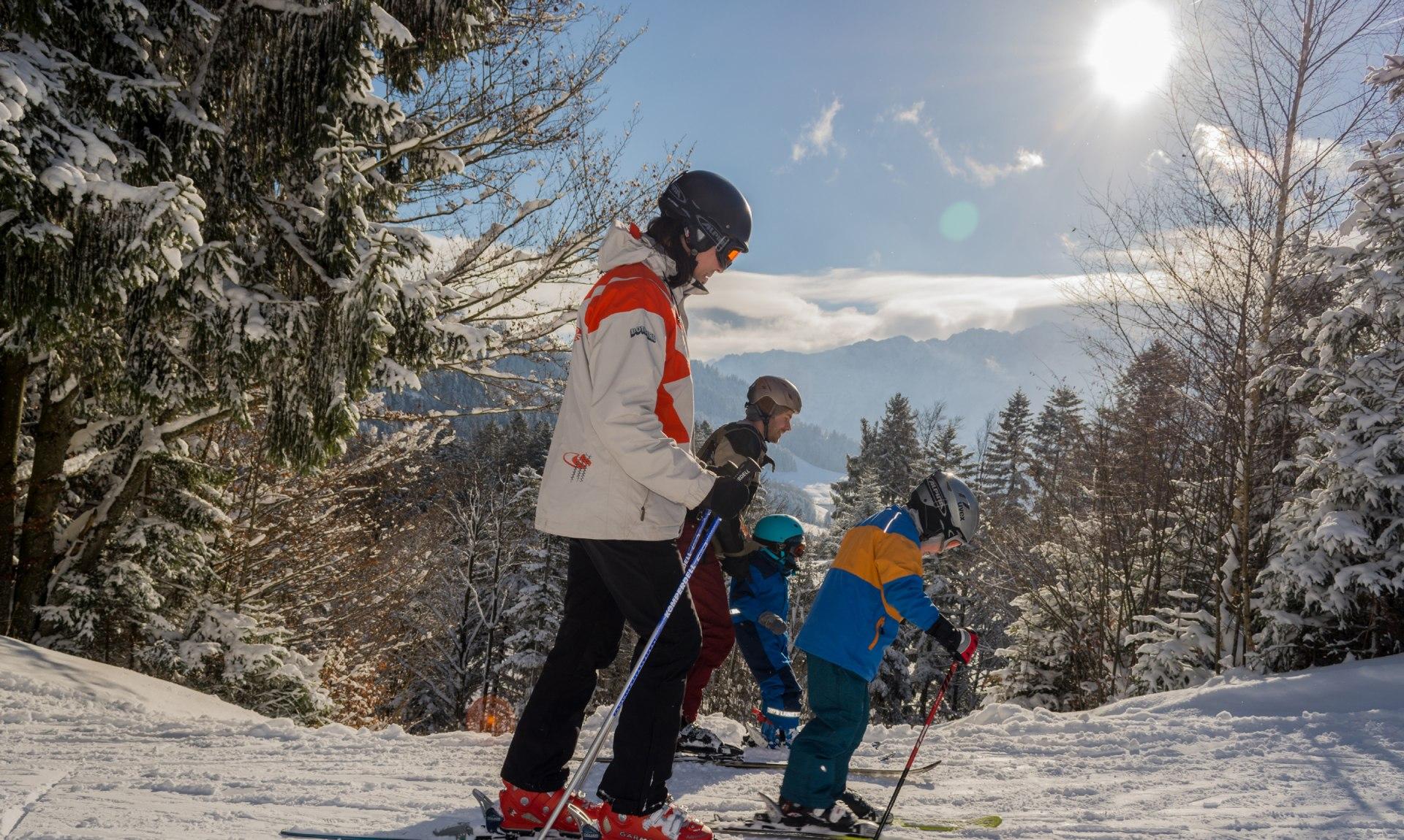 Skifahren Sachrang, © Joachim Brahms