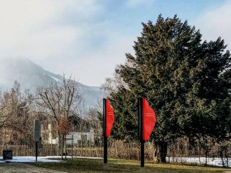 Windharfe im Kurpark, © Tourist Info Aschau i.Ch.