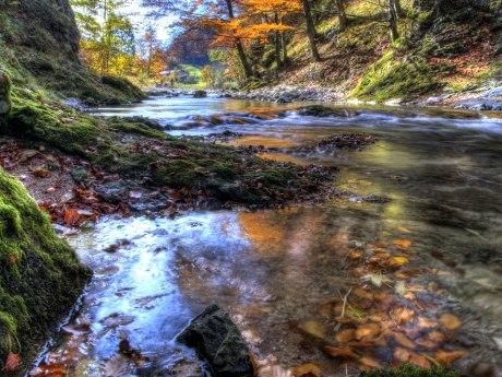 Prientaler Flusslandschaft - Fluss Prien, © Ralf Blumenschein