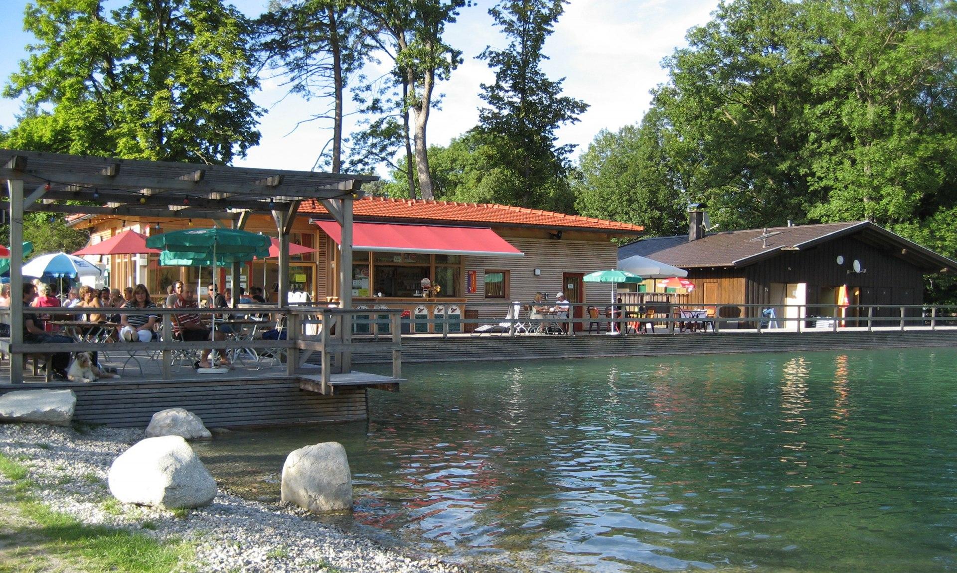 Natur-Freischwimmbad, © Tourist Info Aschau i.Ch.