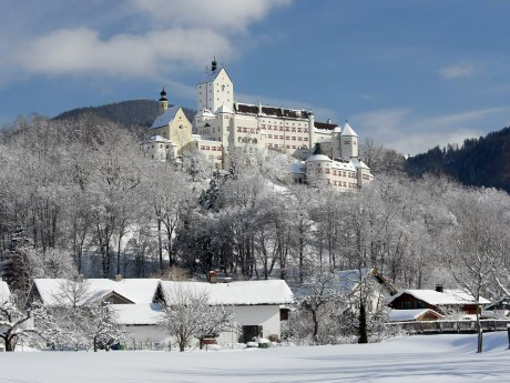 Schloss Hohenaschau Winter, © Foto Berger