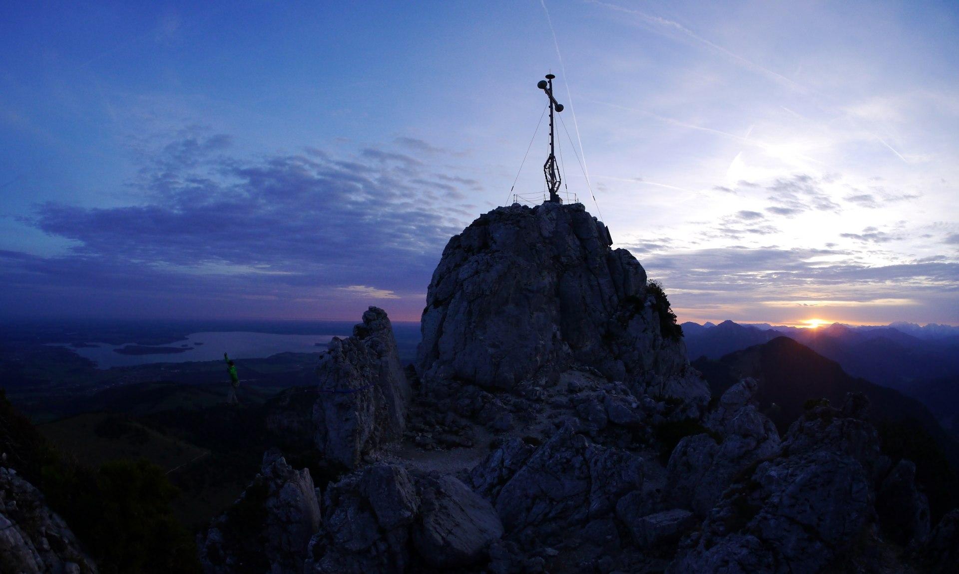 Chiemgau-Kreuz auf der Kampenwand, © Kohlndorfer
