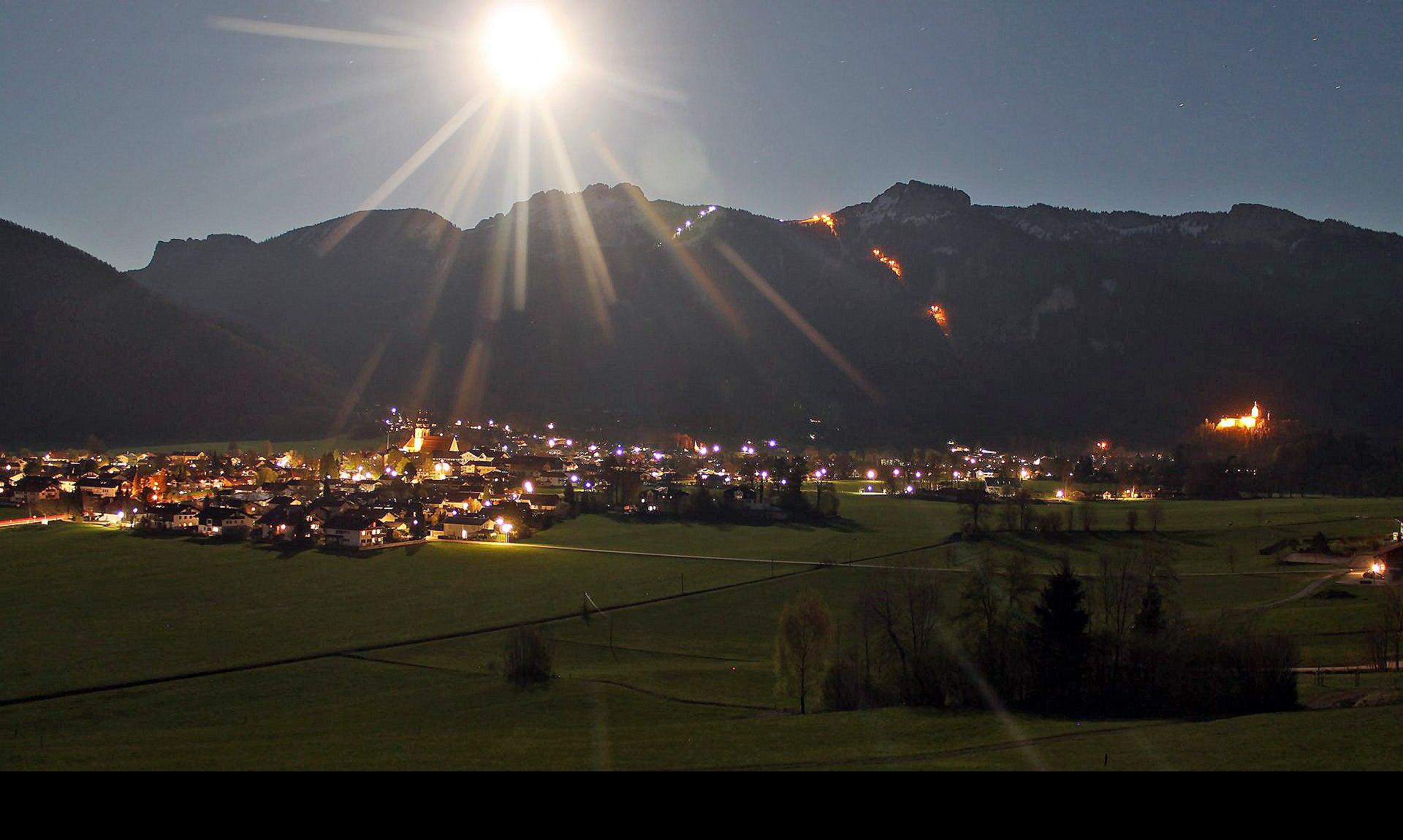 Blick auf Aschau i.Chiemgau