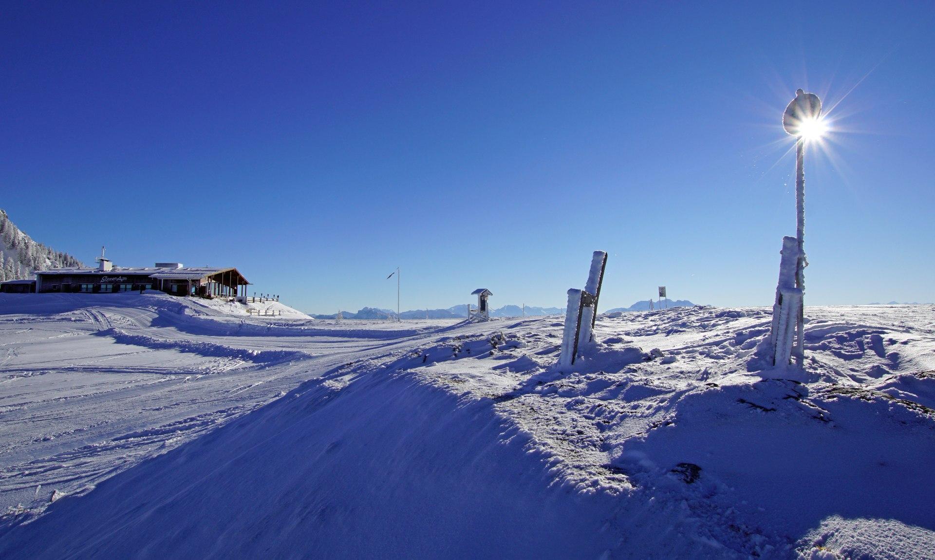 Skigebiet Kampenwand, © Claus Schuhmann