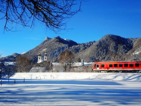 Winter in Aschau, © Cristina Wimmer