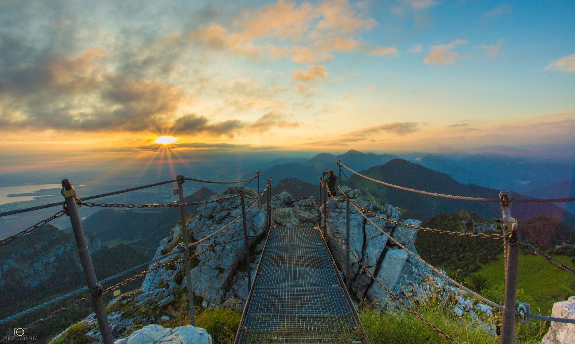 Kampenwand Gipfelausblick, © Mani Huber