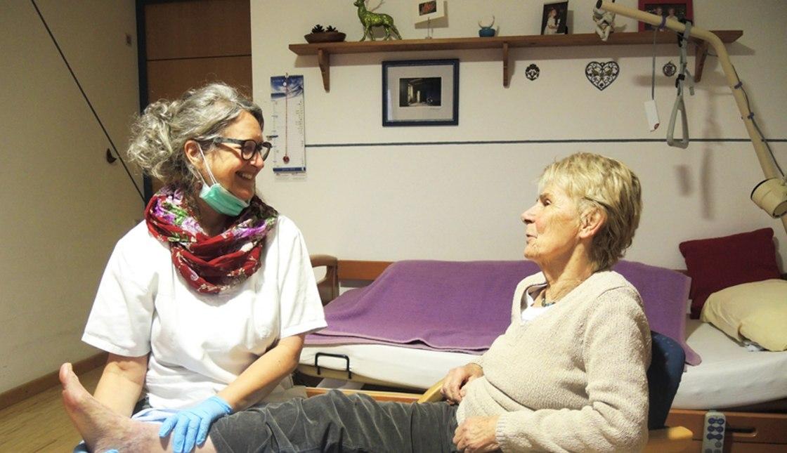 Fusspflege mit Frau Zanier, © Cristina Wimmer