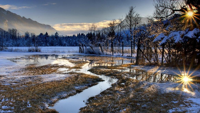 Licht Stimmung am Bärnsee, © Ralf Blumenschein
