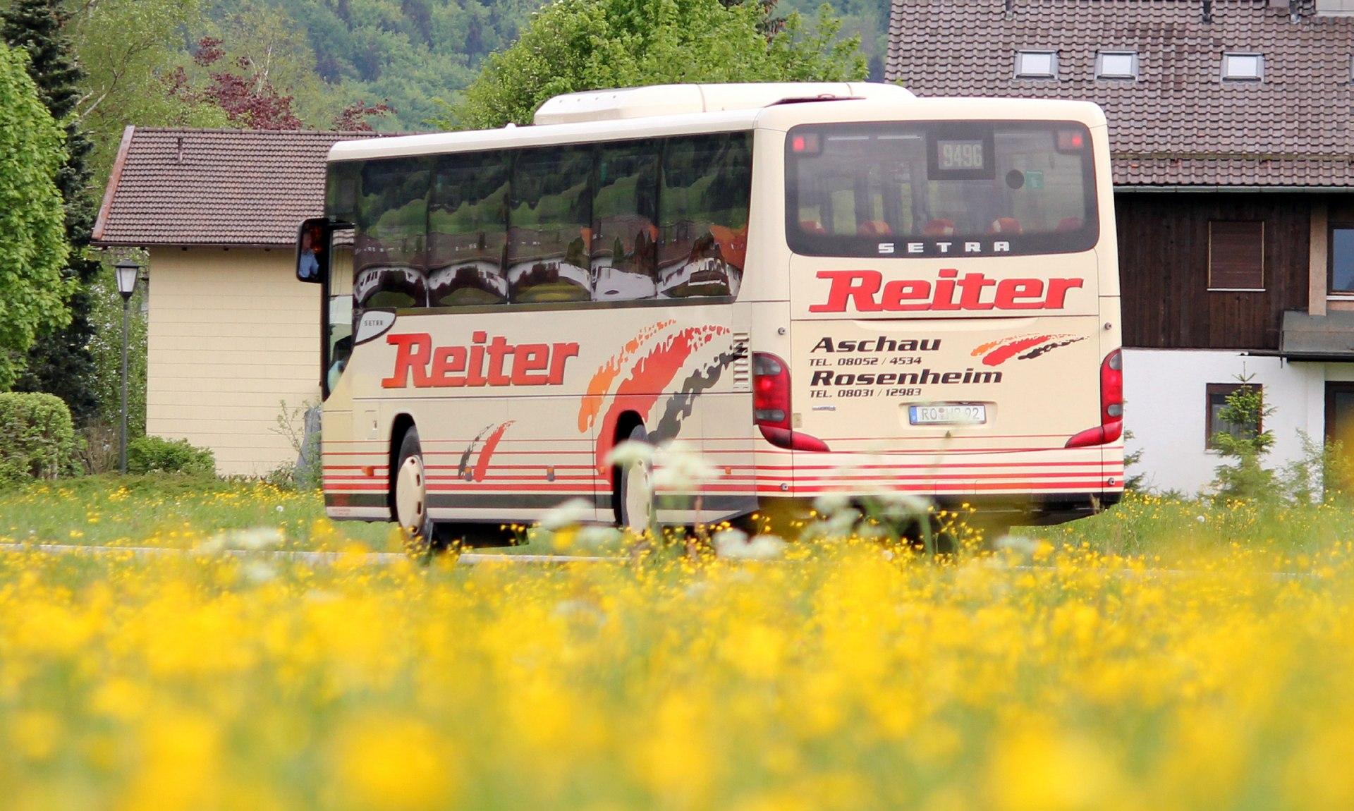 RVO Bus Firma Reiter, © Tourist Info Aschau i.Ch.