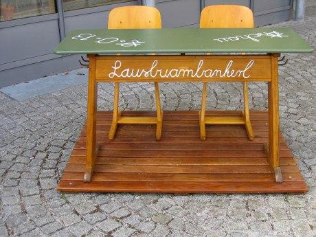 55_Lausbuambankerl aufgestellt von Maurer Josef und Susanne, © Tourist Info Aschau i.Ch.