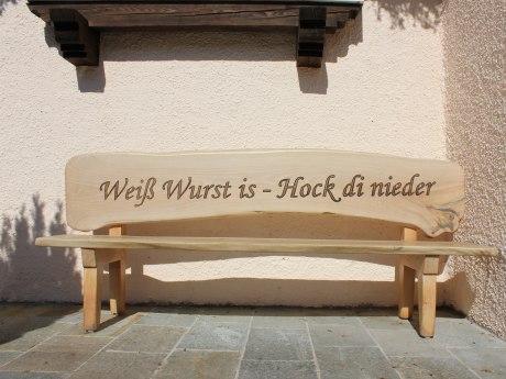 49_Weiß Wurst is aufgestellt von Metzgerei Angermann, © Tourist Info Aschau i.Ch.