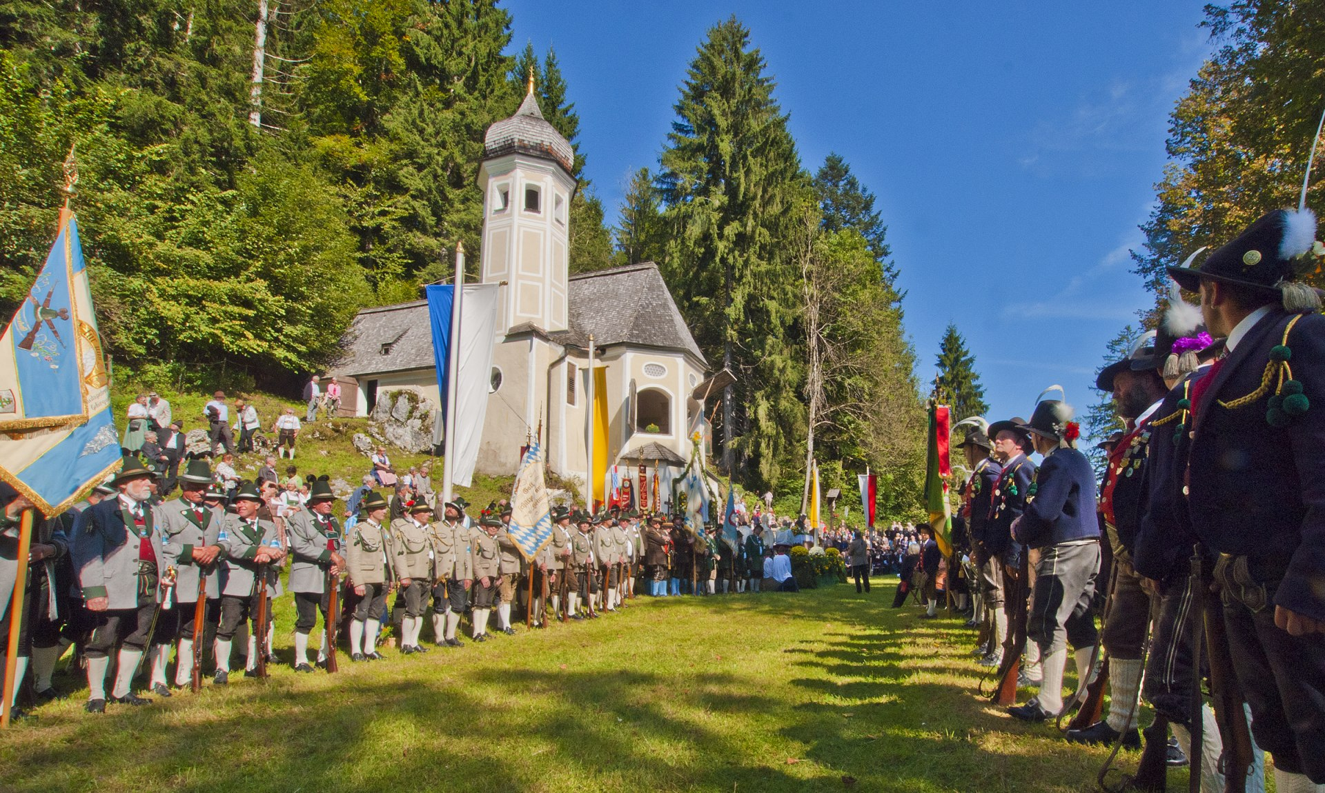 Wallfahrt zur Ölbergkapelle Sachrang, © ROHA-Fotothek Fürmann