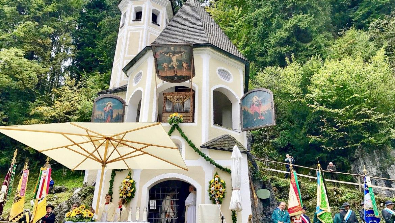 Wallfahrt zur Ölbergkapelle Sachrang, © Herbert Reiter