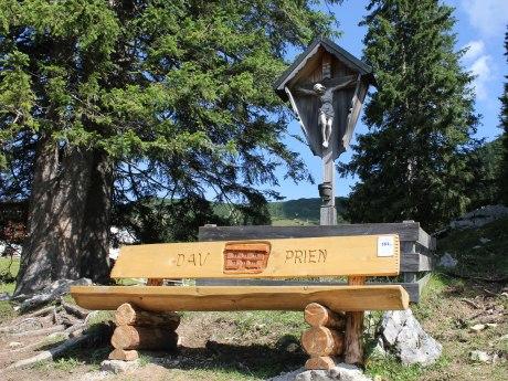 184_Josef´s Ruhebankerl aufgestellt von der DAV Sektion Prien, © Tourist Info Aschau i.Ch.
