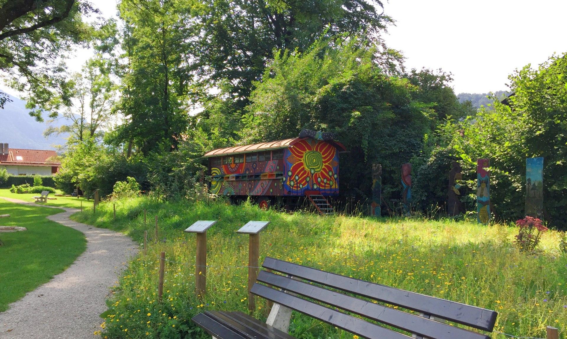 Naturlehrpfad am Bahnhof, © Tourist Info Aschau i.Ch.