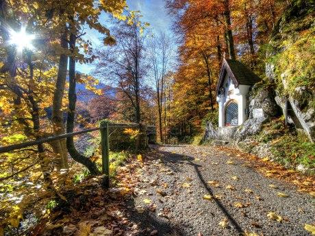 Kettenkapelle zwischen Aschau i.Ch. und Bach, © Ralf Blumenschein