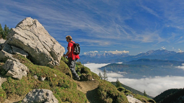 Bergwanderer, © Foto Müller