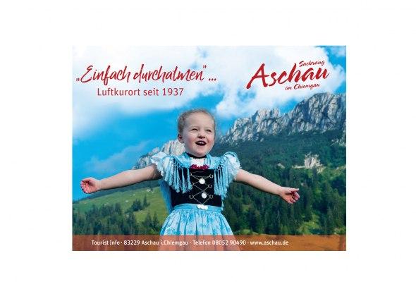 """Luftkurort Aschau im Chiemgau """"Einfach durchatmen"""", © Tourist Info Aschau"""