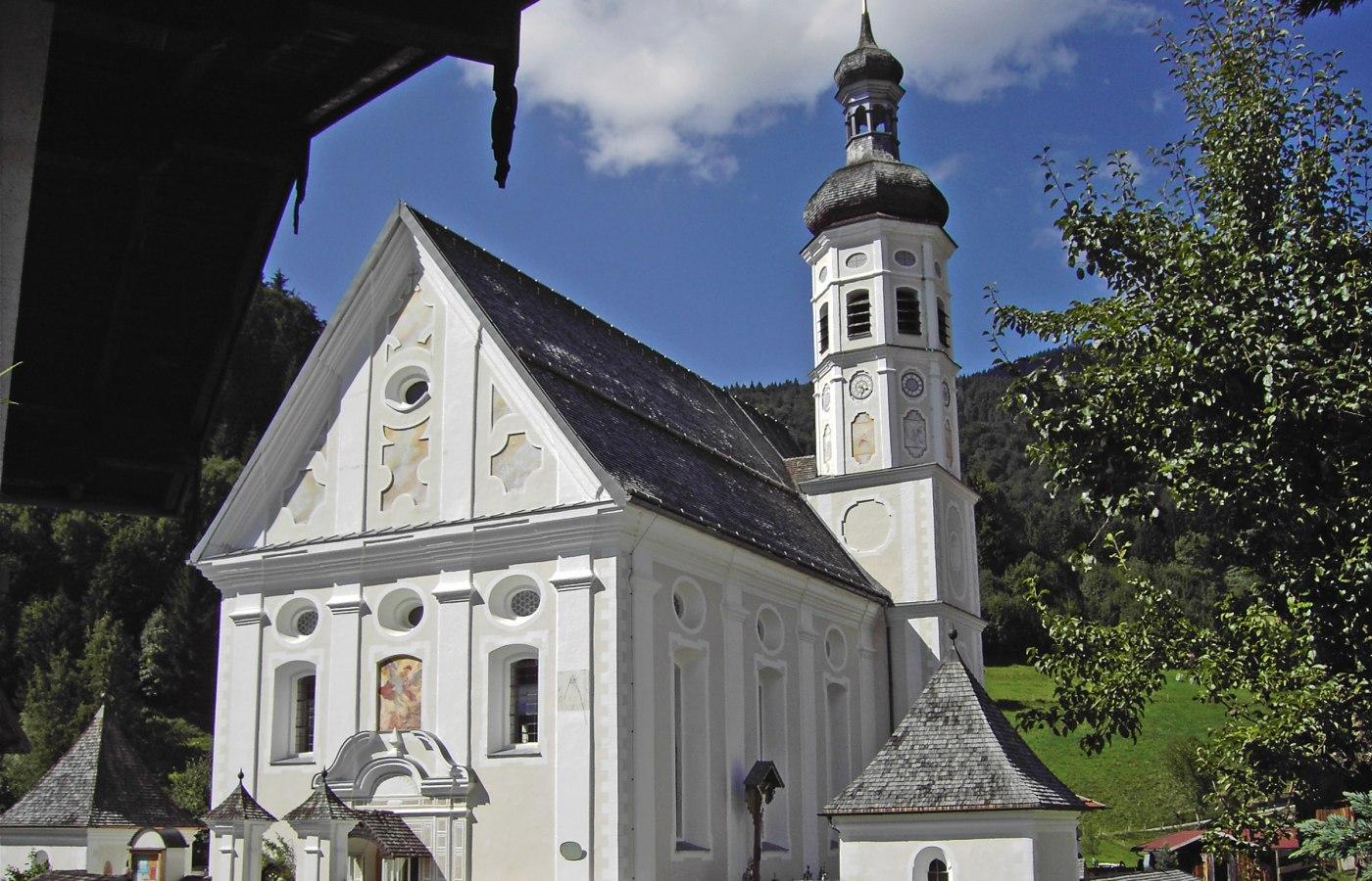 Kirche St. Michael Sachrang, © Tourist Info Aschau i.Ch.
